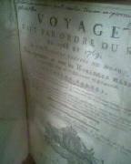 Fleurieu C.Pierre Claret d' Voyage fait par ordre du roi en 1768 et 1769 à différentes parties du monde ,pour éprouver en mer les horloges marines inventées par m Ferdinand Berthoud estimé 1.700 euros.